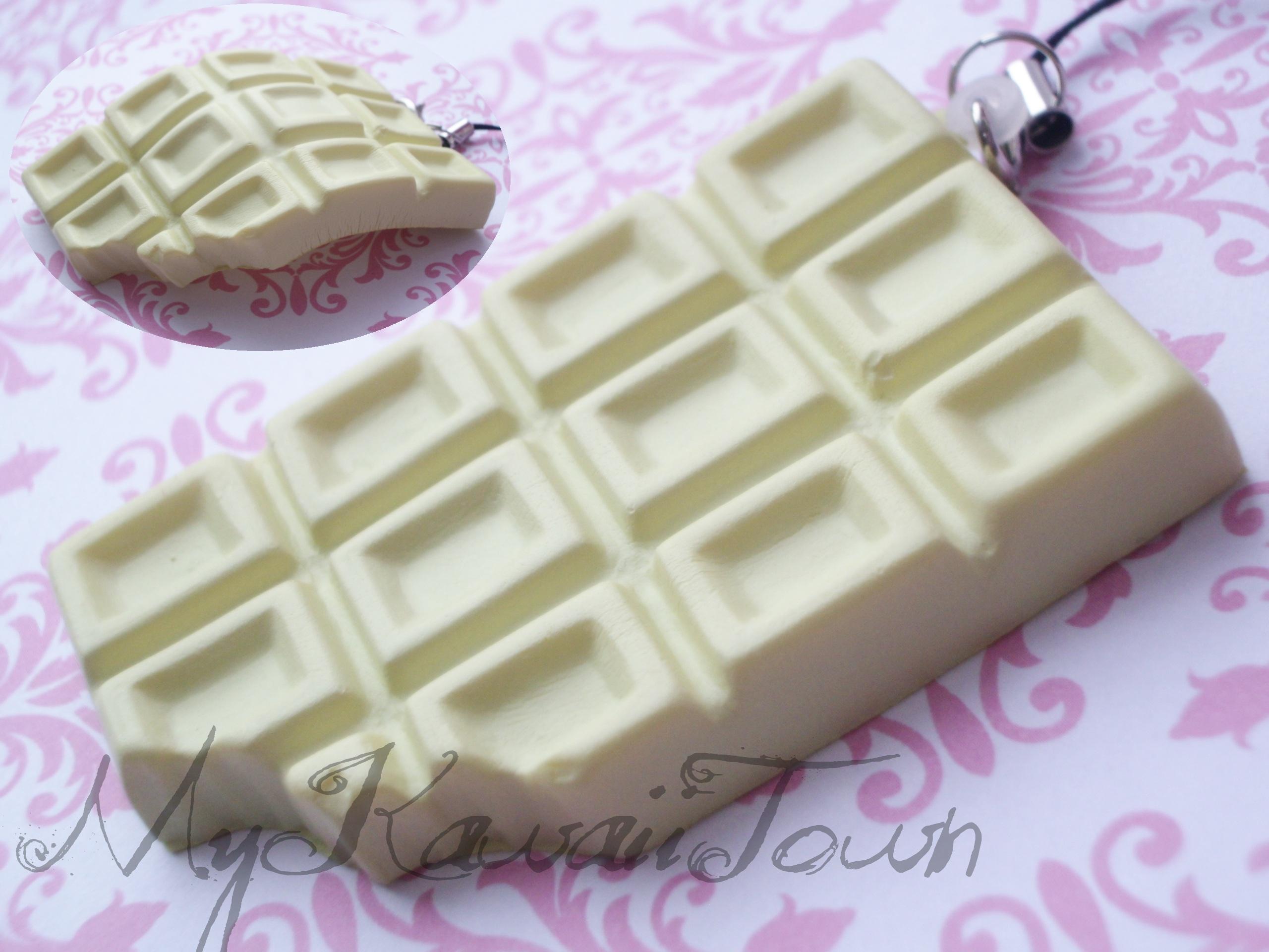 Squishy Cracking Chocolate Bar : Squishy Cracking White Chocolate Bar on Storenvy