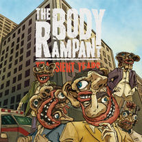 The Body Rampant - Transient Years (+ 4 New Bonus Tracks) LIMITED/ 100 (Clear + Gold Tape)