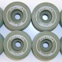 Cottrell Silentred Clay Roller Skate Wheels - Thumbnail 2
