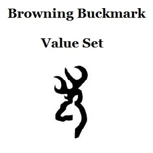 Browning Buckmark Value Set
