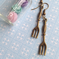 Little Fork Earrings