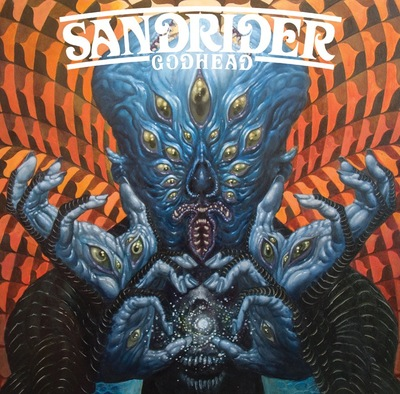 "Sandrider - ""godhead"" lp (includes free coozie)"