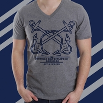 Future Destination Records-Anchor V-Neck