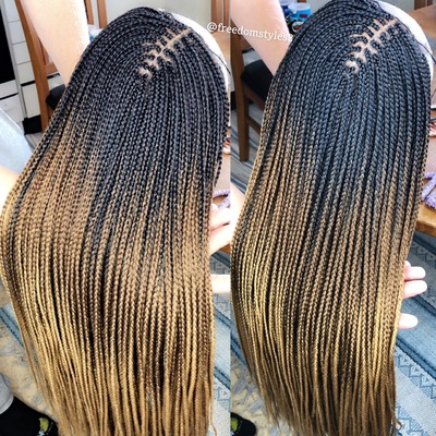 Handmade Braided Wig