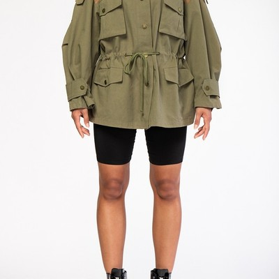 """sasha safari"" jacket"