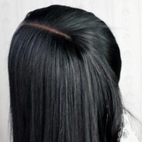 Straight Human Hair Wig - Thumbnail 2