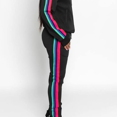 "Color me bad"" track suit"