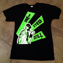 Scream Fist Shirt NEON GREEN