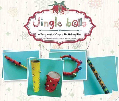 4 jingle bell craft activities booklet