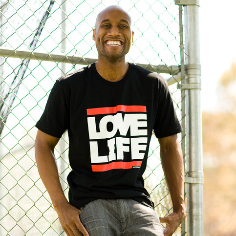 "Guys ""Love Life"" T-Shirt"