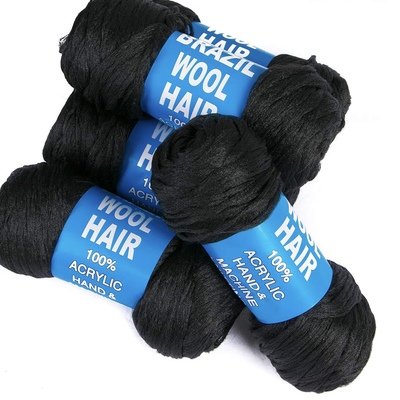 100% original brazil braiding wool