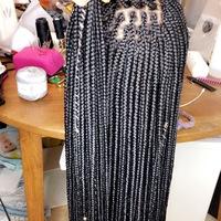 Closure box braids wigs  - Thumbnail 2