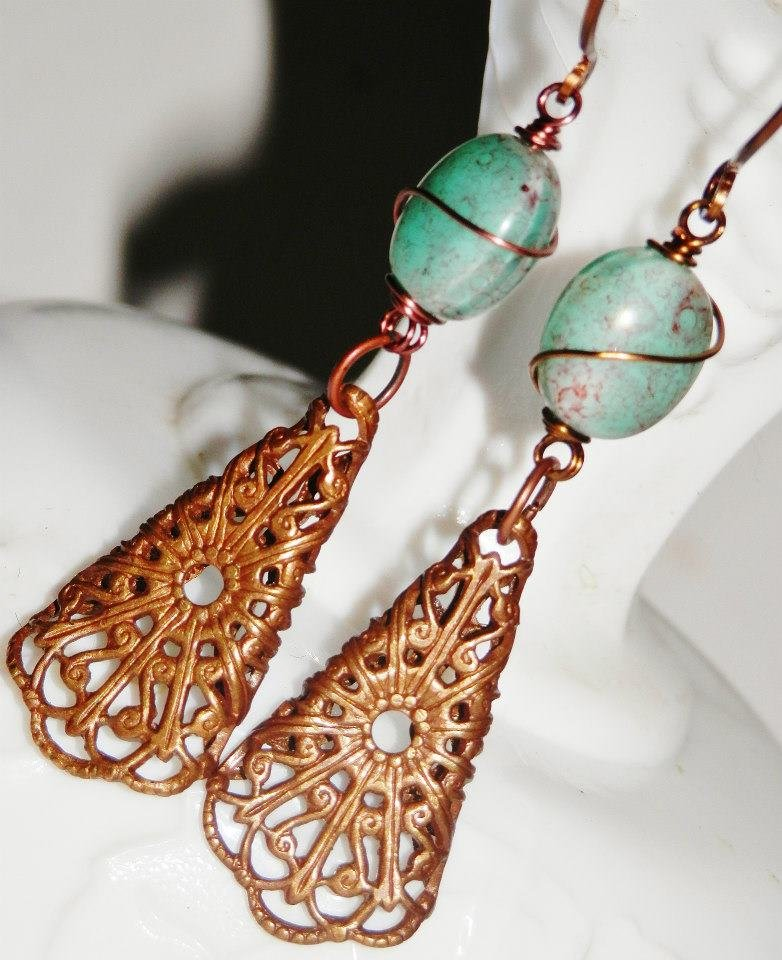 Vintaj earrings amelia 39 s southern expressions online for Jewelry stores in slidell louisiana