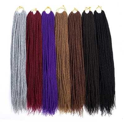 Crochet twist Full Head   (handmade)