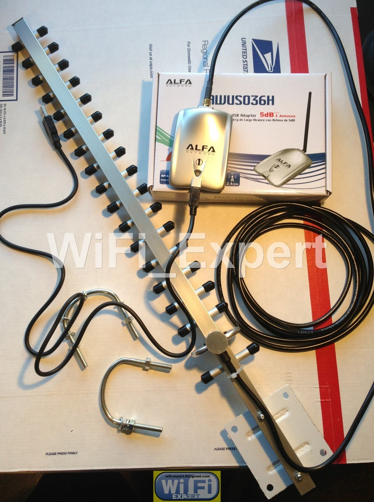 how to use a yagi antenna for wifi