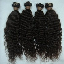 Virgin Curly Peruvian Hair (18inch)