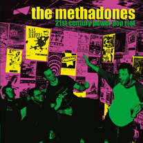 "The Methadones ""21st Century Power Pop Riot"" CD  CCCP 108-2"