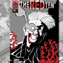 THE RED TEN #5 - Joe Mulvey Variant