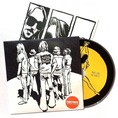 Make love not babies cd lp, by fortress social club