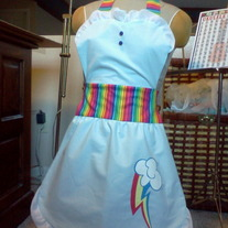 Rainbow Dash Apron
