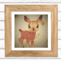 Oh Deer - Luster Photo Print 5x5
