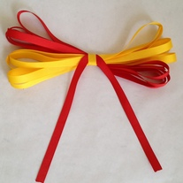 Red and Yellow Ribbon