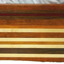 XL Bar B Que Wood Cutting Board