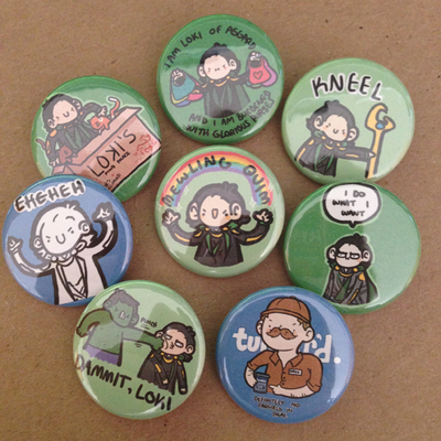 Loki pin set (8)