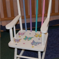 Childs Spindle Rocking Chair