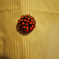 Vintage Flower Bud Brooch