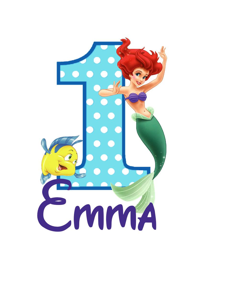 The little mermaid birthday shirt 20 00 the little mermaid shirt