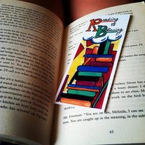 """Reading is Believing"" Bookmark"