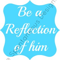 Reflection of him digital print file
