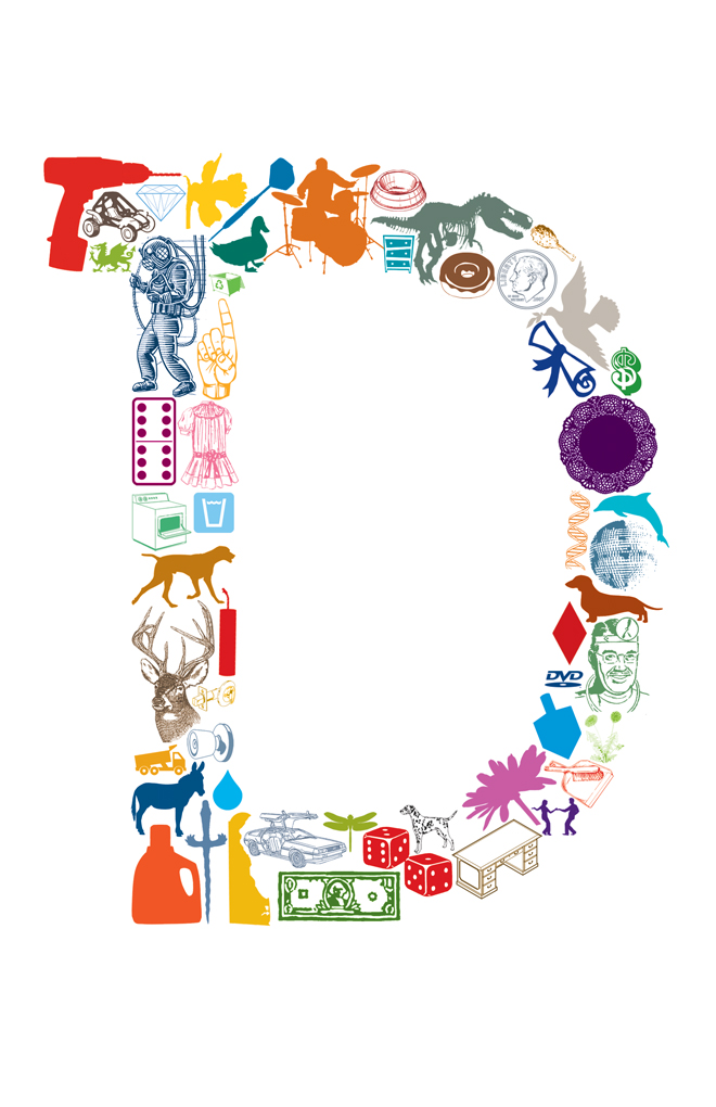 D is for 11 x 17 letter d poster on storenvy for A bathroom item that starts with n