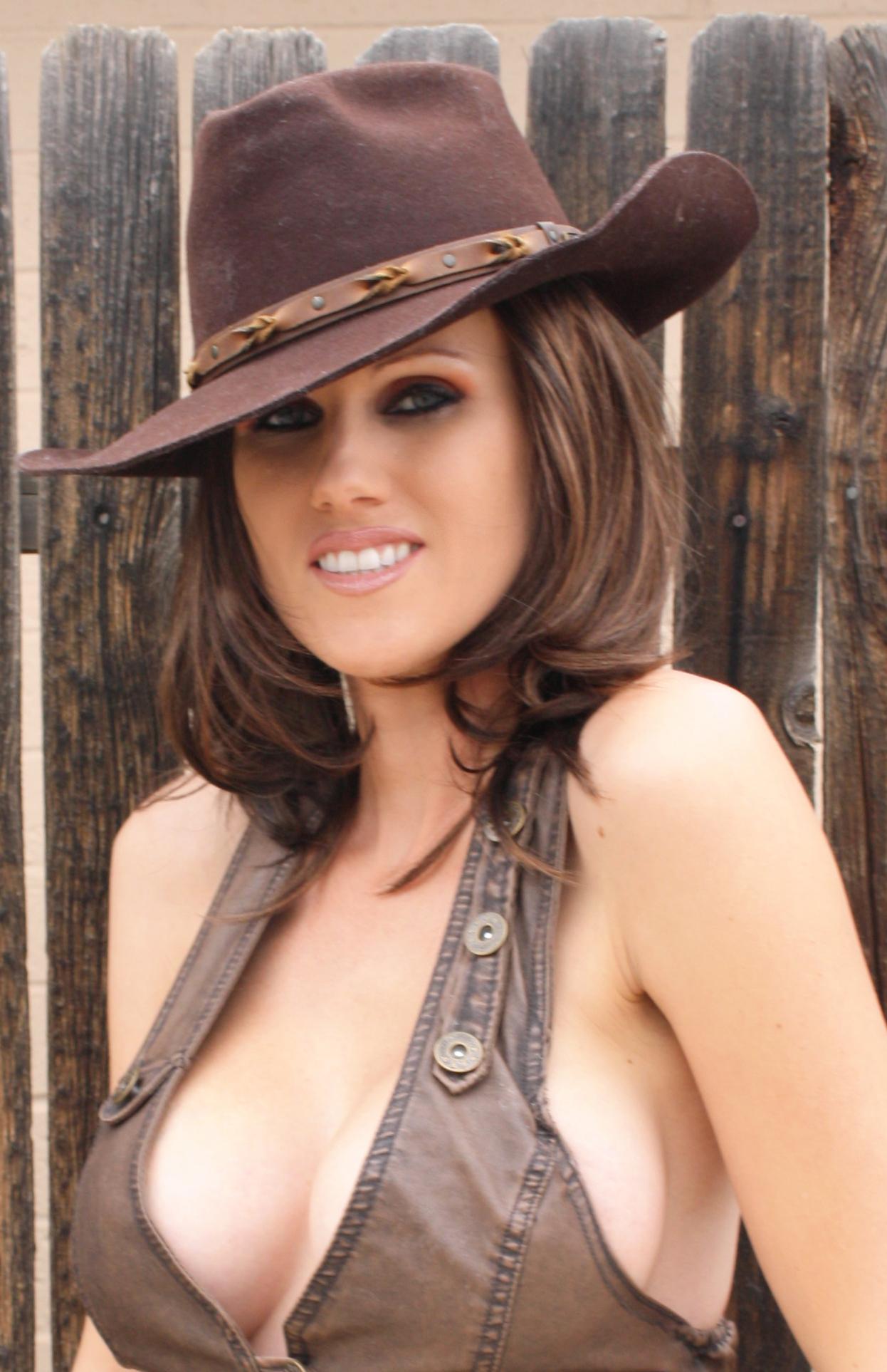 cowgirl 2 11x17 azpowergirl cosplay print · alfred trujillo & az