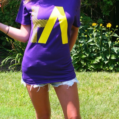 Ha logo t -  purple