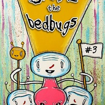Save the Bed Bugs #3 comic (anthology) art zine