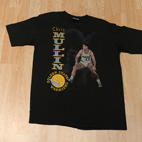 Chris Mullin Golden State Warriors T-shirt