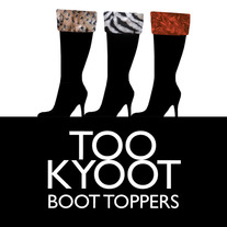 Too Kyoot Fur Boot Toppers