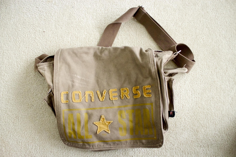 b4bf886ea6e Vintage Converse Messenger Bag on Storenvy