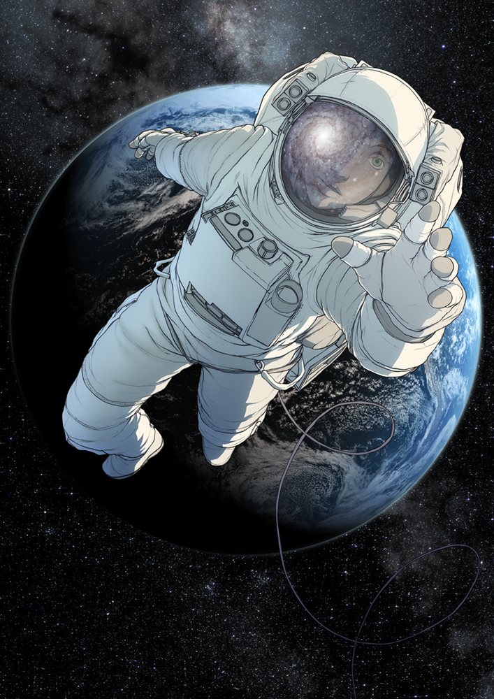 Astronaut Art - Pics about space