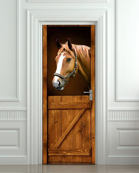 Wall Door Sticker Horse Barn Stable Stall Mural Decole