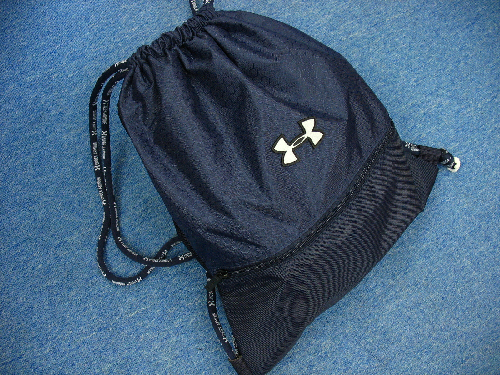 Under Armour Large Size Sackpack Navy color · sporttwelve · Online ... e162f9a297dbf