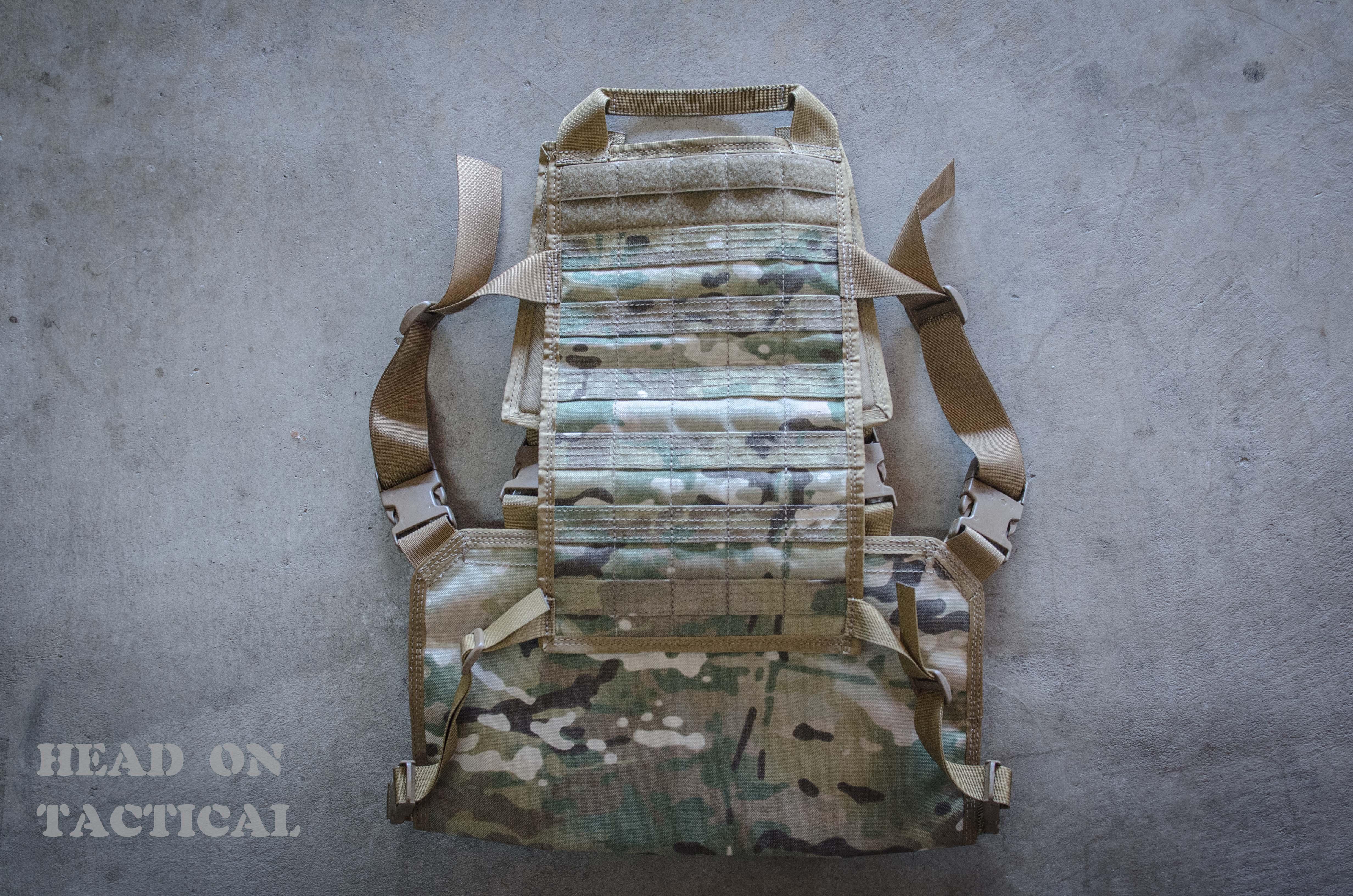 Modular Back Panel Camo