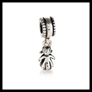 9d6f0dbbf AUTHENTIC PANDORA Girl Dangle .925 Sterling Silver European Charm Bead -  Item No. 790860 Free Shipping Deal · GBJewelry · Online Store Powered by  Storenvy
