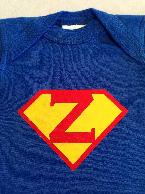 871c14ae0 ... Personalized Superman Baby Bodysuit, Superhero Baby Shirt, Super Hero  Baby Costume Bodysuit - Thumbnail ...