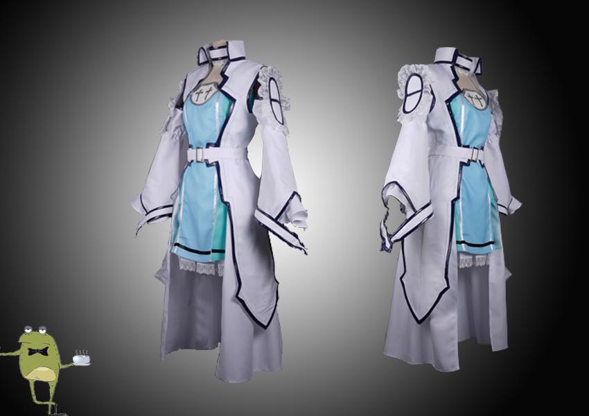 Sao Ausuna Full Body: SAO ALfheim Online Yuuki Asuna Undine Cosplay Costume On