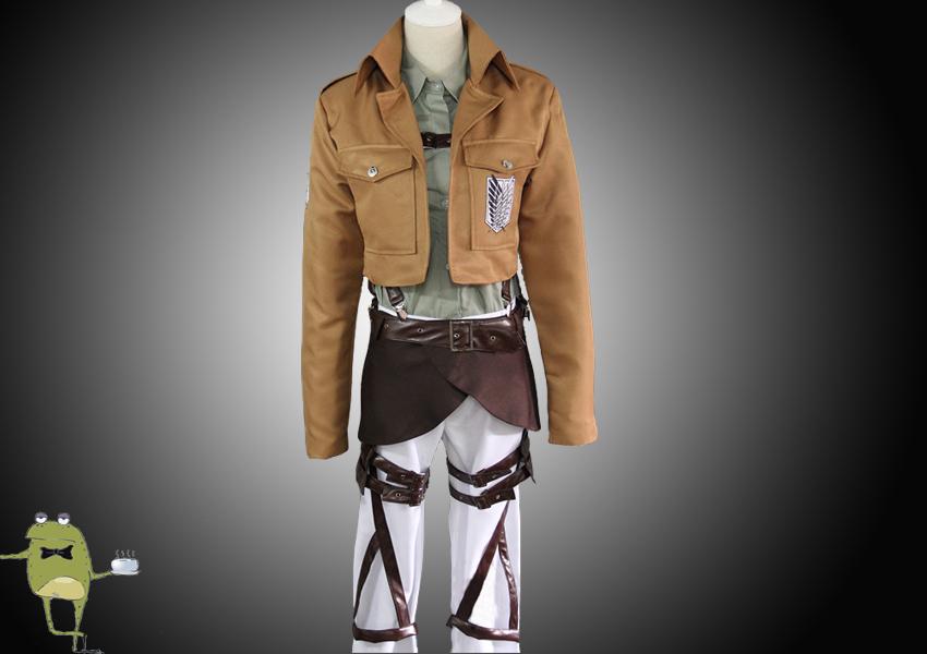 Attack on Titan Jacket Jean Kirstein Cosplay Costume on ...