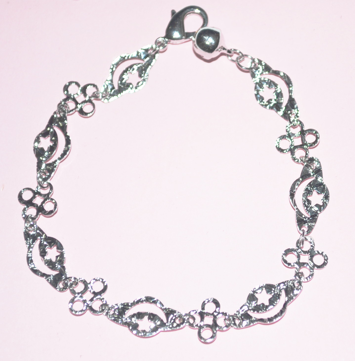 37cd96182 Simple pretty white gold filled bracelet · Jesimall · Online Store ...