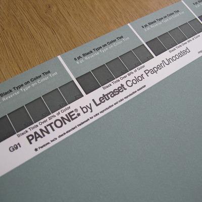 Vintage PANTONE® Poster - 486U · VINTAGE PANTONE POSTERS